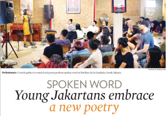Spoken Word The Jakarta Post